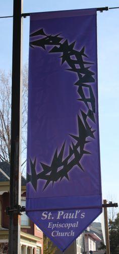 Lenten Banner - Good Friday