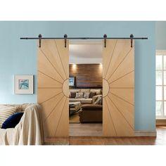 Sliding Door Design, Modern Sliding Doors, Sliding Closet Doors, Double Barn Doors, Modern Closet Doors, Sliding Barn Door For Closet, Modern Barn Doors, Indoor Sliding Doors, Sliding Bathroom Doors