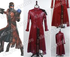 Guardians of The Galaxy Peter Quill Star-Lord Cosplay Costume Coat from Guardians of The Galaxy