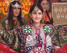 Afghan women Facial tattoo (Khaal)
