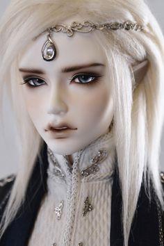 HeHeBJD BJD Recast Dia Male Elf Head MD65 Body With Eyes Resin Figures #body