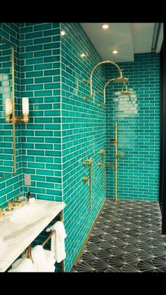 Remodel your home bathroom with modern, luxurious or rustic bathroom design idea… – Vintage Home Decor Brooklyn Hotels, Williamsburg Hotel, Rustic Bathroom Designs, Design Bathroom, Art Deco Bathroom, Bathroom Interior, Art Deco Interior Bedroom, Art Deco Room, Art Deco Living Room