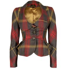 Vivienne Westwood Anglomania Scale Jacket