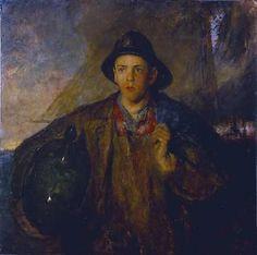 CHARLES W. HAWTHORNE, The Fisher Boy, 1908.