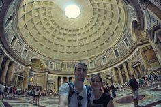 Le Pantheon de Rome vu de l'intérieur