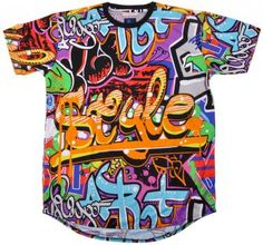 Wholesale Hip Hop Clothing | Cheap Urban Wear Clothes Wholesale  ALL OVER SPRAY CAN PRINT