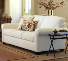 Buchanan Upholstered Sofa | Pottery Barn