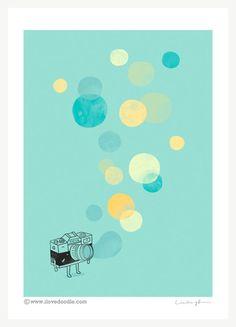 Memories, like bubbles