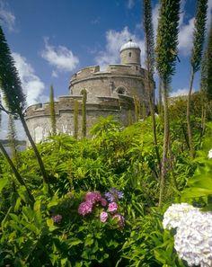 St. Mawes Castle, built for King Henry VIII