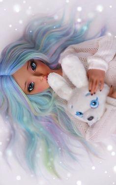 Untitled | by 4arllin Anime Girl Drawings, Anime Art Girl, Cute Drawings, Beautiful Barbie Dolls, Pretty Dolls, Girl Cartoon, Cartoon Art, Ooak Dolls, Art Dolls