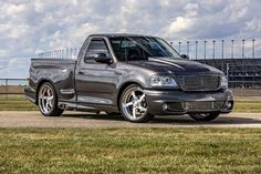Nathan Findlay's 2003 Ford Lightning is built to haul in more ways than one ...