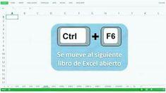 Va a siguiente Excel abierto