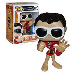 FUNKO POP! Plastic Man DC Legion of Collectors #165 EXCLUSIVE Mint Condition #FunkoPop