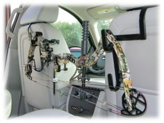 The Ultra Seat Rack Gun and Bow Holder for Trucks and SUVs | Bass Pro Shops