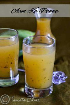 Spiced Raw Mango Juice- Vegan and GF