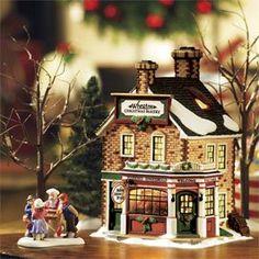 Dept 56 New England Village ** Wheaton Christmas Bakery ** 57001 New England Village