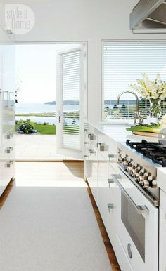 Home Interior, Interior Design Kitchen, Home Design, Modern Interior, Kitchen Decor, Design Design, Interior Decorating, Style At Home, Beach Kitchens