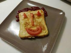 Food time وقت الطعام توست مقلي مع بيض egg with toast
