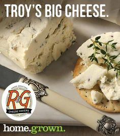 Goat cheese on crackers is where it's at. We're proud to team up with goat cheese artisans like R&G Cheesemakers! Goat Cheese, Camembert Cheese, Cheese Maker, Crackers, Artisan, Recipes, Food, Pretzels, Recipies