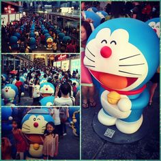 Doraemon is invading Hong Kong #100years #doraemon #hongkong#picstitch - @jibson | Webstagram