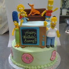 Simpson cakes for Icing Smiles, Inc