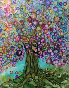 """""""Love Is In The Air"""" Help My Family Get To Ireland Fund Purchase Information I have so much fun painting all these lit. Love Is In The Air Help My Family Get To Ireland Fund Purchase Information I have so much fun painting all these lit. Alcohol Ink Tiles, Alcohol Ink Crafts, Alcohol Ink Painting, Rubbing Alcohol, Flower Mandala, Tree Art, Watercolor Art, Watercolor Tattoos, Artwork"""