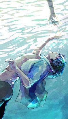 By shokupa_m ...  Free! - Iwatobi Swim Club, free!, iwatobi, haruka nanase, haru nanase, haru, haruka, nanase