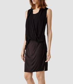 Women's Abi Dress (Anthracite) - product_image_alt_text_2