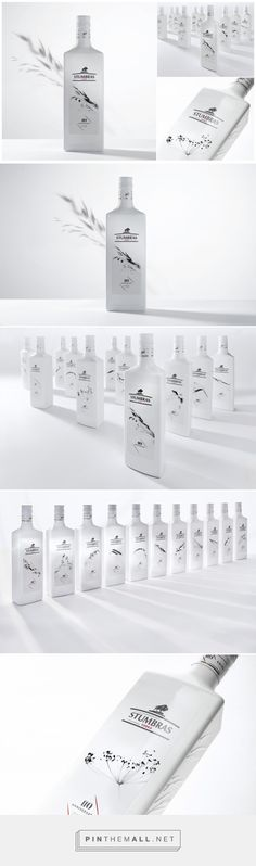 Stumbras Vodka -110 Unique Labels - Packaging of the World - Creative Package Design Gallery - http://www.packagingoftheworld.com/2016/10/stumbras-vodka-110-unique-labels.html