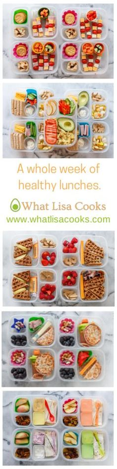 Kids school lunches: healthy, easy, fast.