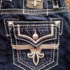 Men Rock revival jeans No issues  32waist 34 inseam Rock Revival Jeans