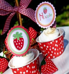 strawberry shortcake strawberry picnic summer party ideas party supplies printables