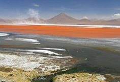 Altiplano, South America  Originally an area of land covered entirely by Lake Ballivan, it has drained over time and is now an area of outstanding natural beauty.
