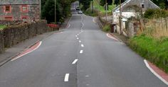 """IT was hoped that the loopy lines would slow down motorists using the A811, but locals say they are """"silly"""" and """"a waste of money""""."""