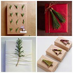 5 formas originales de envolver los regalos navideños http://bujaren.com/formas-originales-de-envolver-los-regalos-navidenos/