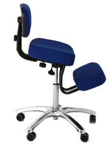 The chair that I'm sitting on right now.  Great for the back.