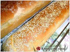 Εξαιρετική συνταγή για Το τέλειο ψωμί της πεθεράς μου. Λίγα μυστικά ακόμα Για να καταλάβουμε ότι τα ψωμάκια μας είναι έτοιμα βυθίζουμε ένα μαχαίρι στο ψωμί μας και θα πρέπει να βγει στεγνό.Ευχαριστούμε την pinalaki για τις φωτογραφίες βήμα βήμα. Pretzel Bun, Greek Cooking, Greek Recipes, Hot Dog Buns, Bakery, Food And Drink, Health Fitness, Cooking Recipes, Nutrition