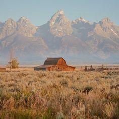 Home on the Range. Photo courtesy of Instagram's sam.strickler in Grand Teton National Park.