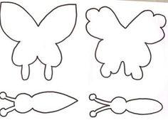 Confira moldes de borboletas em tamanho natural prontos para serem baixados. São vários moldes grátis de borboleta para seus trabalhos de artesanato. Veja e aproveita as ideias para seus trabalhos.