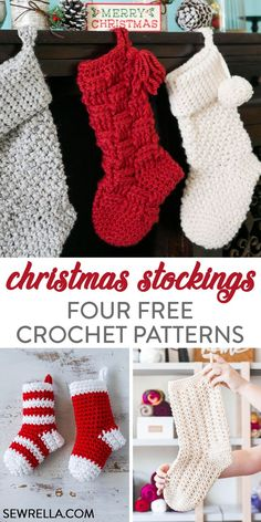 Arts and crafts festival key: we need stockings diy christmas stocking pattern, crochet christmas stockings, crochet christmas gifts, Diy Christmas Stocking Pattern, Holiday Crochet Patterns, Crochet Stocking, Crochet Christmas Gifts, Crochet Christmas Decorations, Bag Crochet, Crochet Amigurumi, Free Crochet, Crochet Christmas Stockings