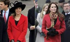 Duchess Kate's style: Top 20 recycled outfits  It seems this red Armani coat has stood the test of time in Kate's wardrobe. The duchess first wore it to attend Prince William's graduation from Sandhurst in 2006. Seven years later, she wore it again during a visit to Scotland.