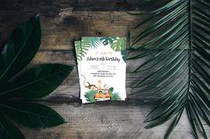 Safari birthday invitation template Safari Invitations, Boy Birthday Invitations, Online Invitations, Birthday Invitation Templates, Safari Theme Party, Party Themes, Baby Shower Templates, Jungle Animals, 4th Birthday