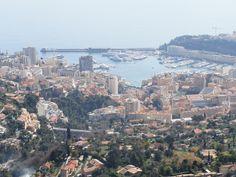 Monaco, from La Turbie, Fr