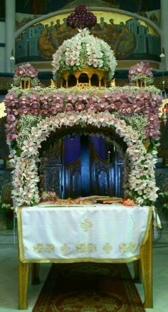 Orthodox Christianity, Holi, Orchids, Beautiful Flowers, Religion, Easter, Table Decorations, Ephemera, Handmade