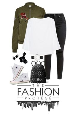 """""""Senza titolo #284"""" by laurettered on Polyvore featuring moda, Miss Selfridge, Converse, The Mercer N.Y., MICHAEL Michael Kors, Chanel e Bling Jewelry"""