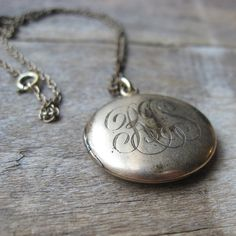 I need to find an old locket