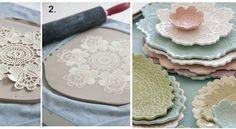 Ecco come quest'artista realizza dei piatti davvero strepitosi con dell'argilla. Rimarrete stupiti dalla semplicità con cui vengono realizzati questi picco