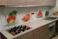 Placare cu sticla printata - Geamuri si oglinzi de la OpriCristal Santorini, Storage, Kitchen, Furniture, Home Decor, Purse Storage, Cooking, Decoration Home, Room Decor