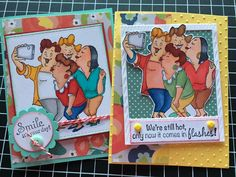 Picture Perfect by terry serman at Splitcoaststampers.  (Pin#1: Humorous... Pin+: Cameras...),