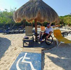 accessible beach near cancun >>> See it. Believe it. Do it. Watch thousands of spinal cord injury videos at SPINALpedia.com Spinal Cord Injury, Cancun, Beaches, Trips, Surfing, Watch, Videos, Travel, Style